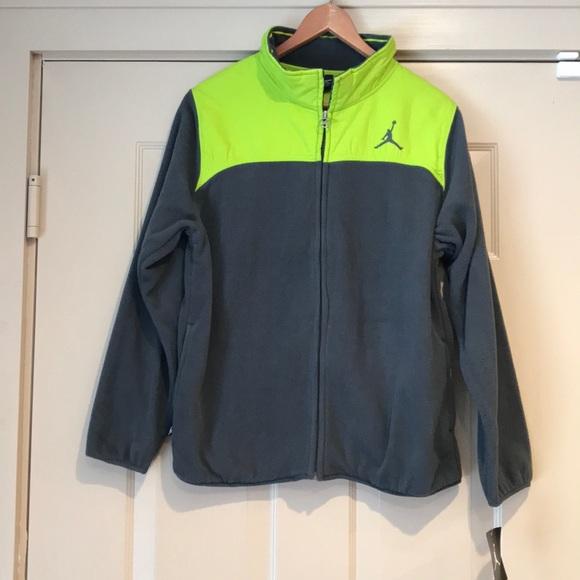 dba0b1cb396fb0 NWT Nike Jordan Jumpman Zip-up fleece